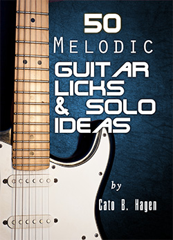50 Melodic Guitar Licks & Solo Ideas - Book Cover