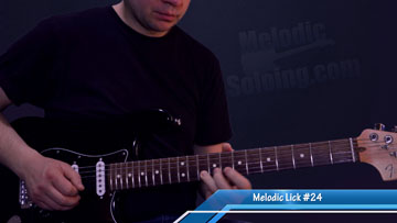 50 melodic guitar licks and solo ideas - lick 24 - featured image