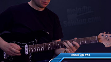 50 melodic guitar licks and solo ideas - lick 35 - featured image