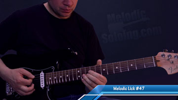 50 melodic guitar licks and solo ideas - lick 47 - featured image