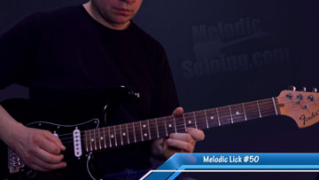 50 melodic guitar licks and solo ideas - lick 50 - featured image